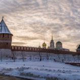 Закат в Тульском кремле