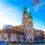 Солнечная рождественская прогулка по Будапешту