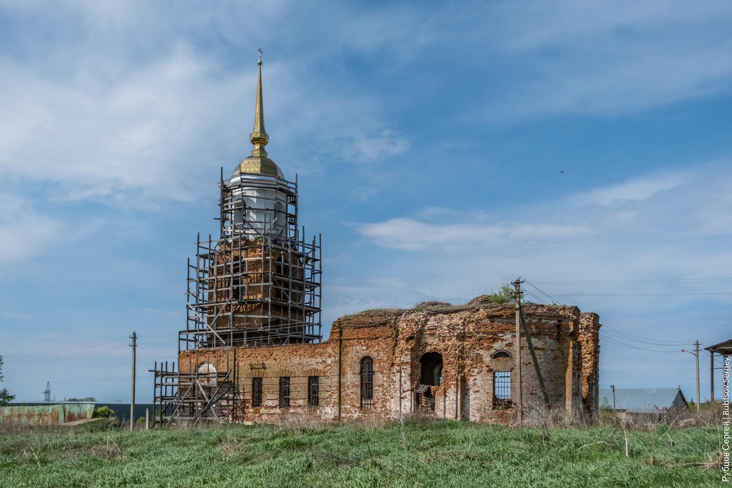 Судьба храма в Телегино
