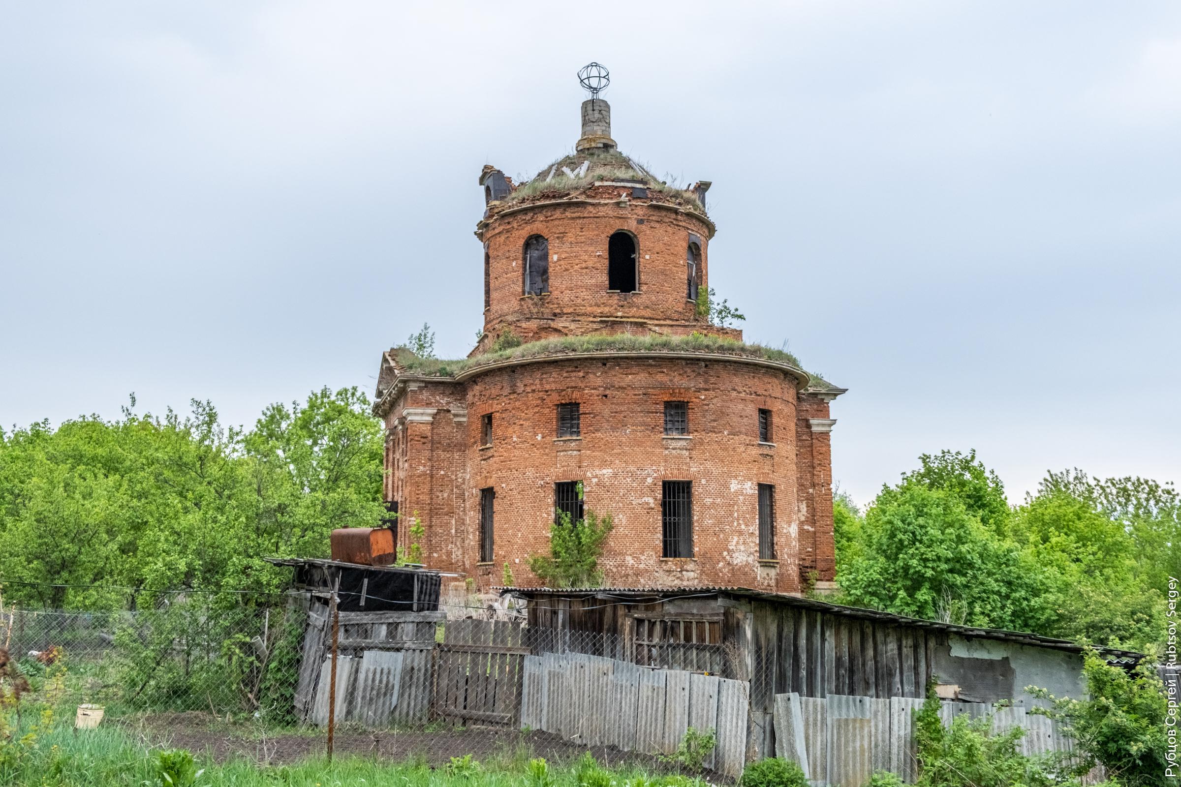 Случайный заброшенный храм в Грибоедово