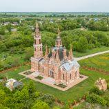 Баженовская готика в липецком селе Вешаловка