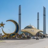 Хай-тек мечеть в Аргуне