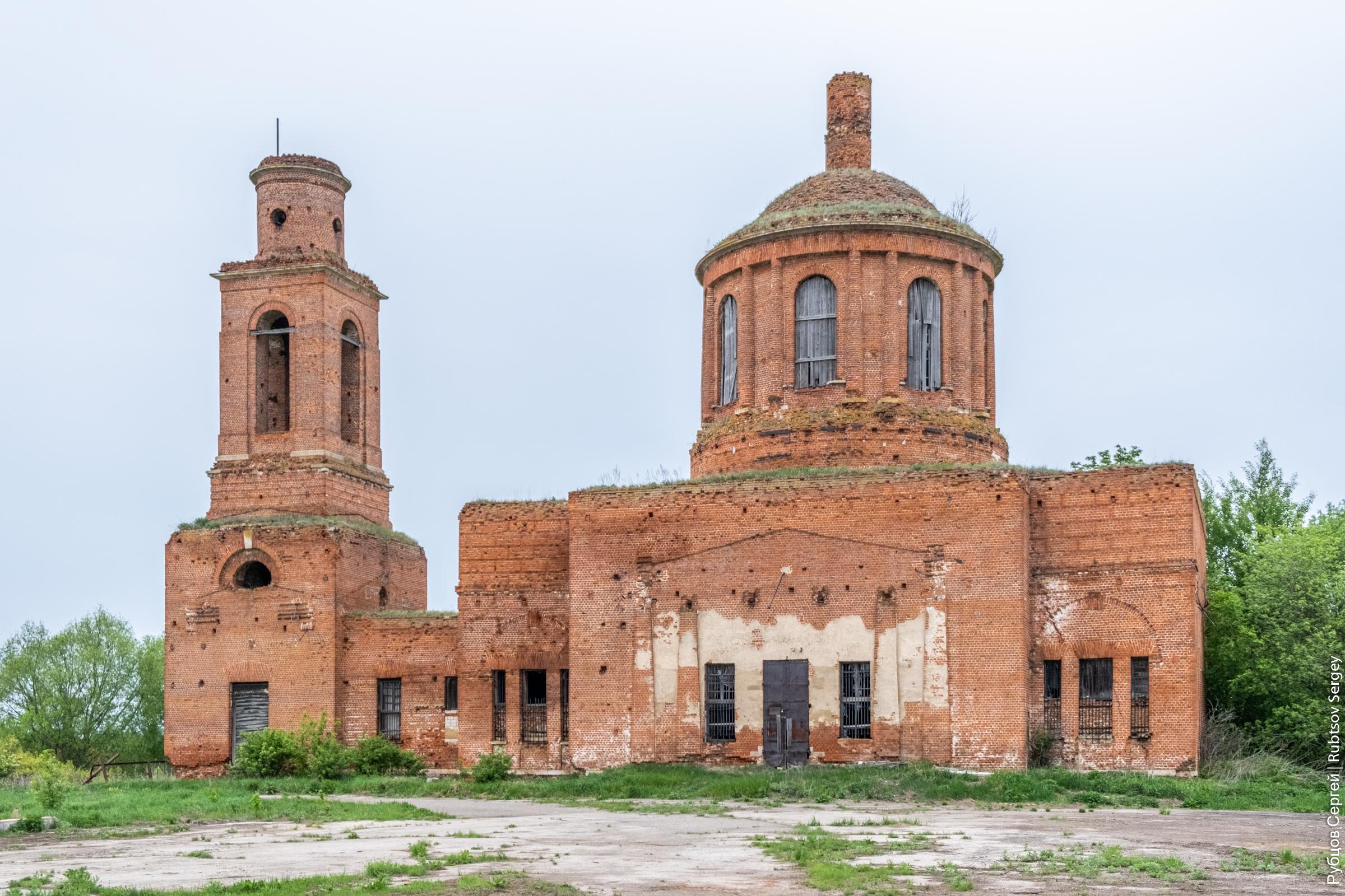Голицынский храм в Суханово