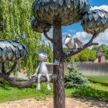Прогулка по серому Воронежу