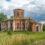 Заброшенный храм с росписями в усадьбе Старое Зимино